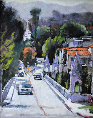 Shakespeare Bridge Number Two Art Print by Richard  Willson