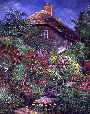 Painting - Shakespeare Cottage by David Lloyd Glover