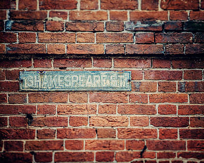 Fells Point Photograph - Shakespeare Street by Lisa Russo
