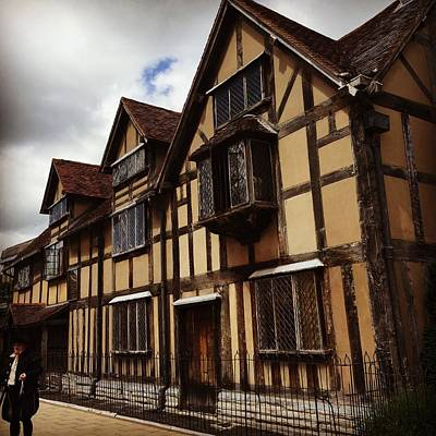 Stratford Photograph - Shakespeare's Birthplace by Jennifer Ansier