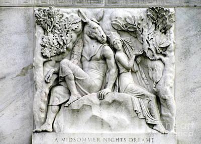 Shakespeares Midsummers Night Dream Art Print by Randall Weidner