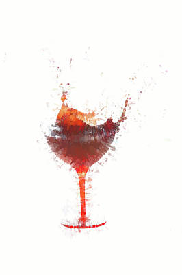 Photograph - Shaking Wine by Dan Friend