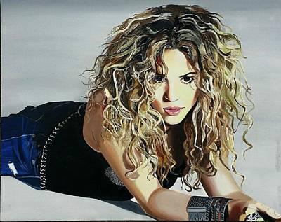 Shakira Painting - Shakira  by Gitanjali  Sood