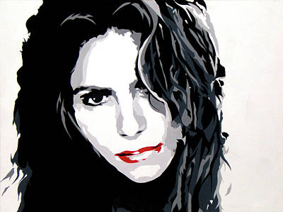 Shakira Painting - Shakira by Michael James  Toomy