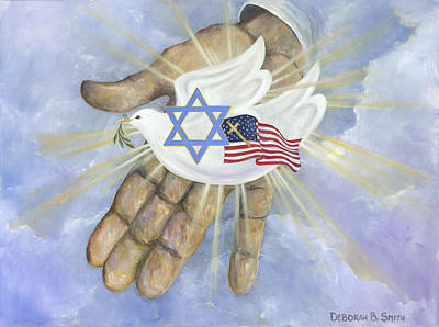 Painting - Shalom by Deborah Smith