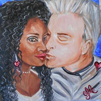 Painting - Shalonda  And  Rainer - All You Need Is Love by Yesi Casanova
