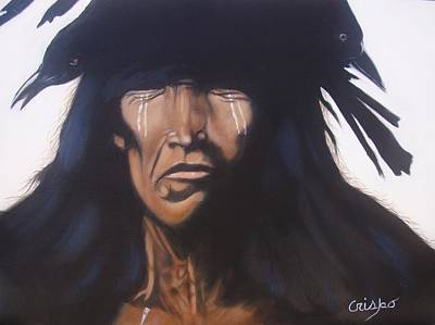 Painting - Shaman by Jean Yves Crispo