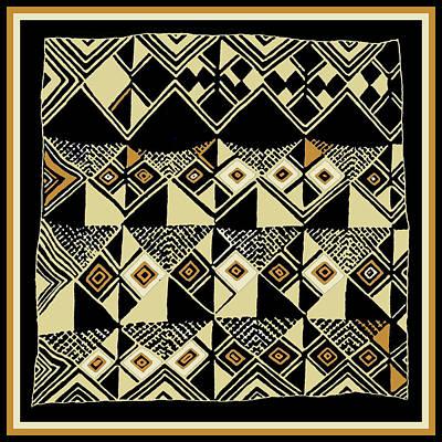 Digital Art - Shaman Tribal Kuba by Vagabond Folk Art - Virginia Vivier