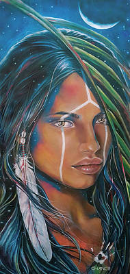 Painting - Shamanic Feelher by Robyn Chance