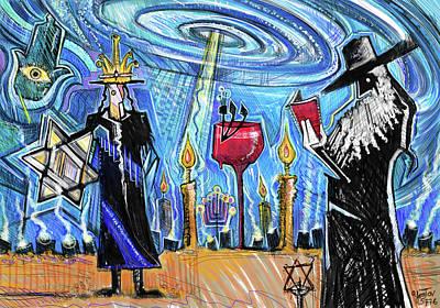 Painting - Shamayim by Yom Tov Blumenthal
