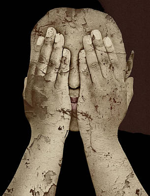 Depression Mixed Media - Shame by Jan Keteleer