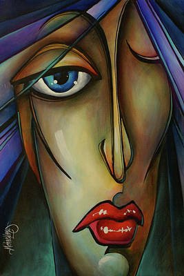 Mood Painting - Shame by Michael Lang