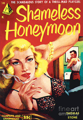 Painting - Shameless Honeymoon by Unknown Artist