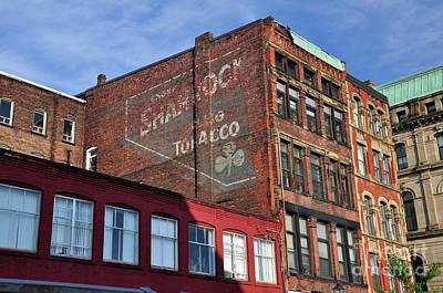 Photograph - Shamrock Tobacco Sign by Glenn Gordon