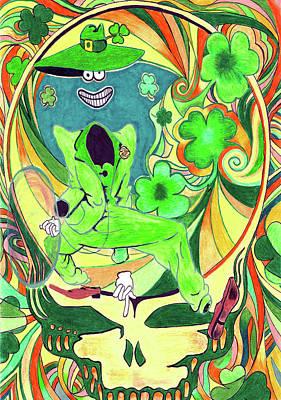 Shamrock Shakedown Art Print