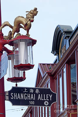 Photograph - Shanghai Alley 1 Vancouver by John  Mitchell