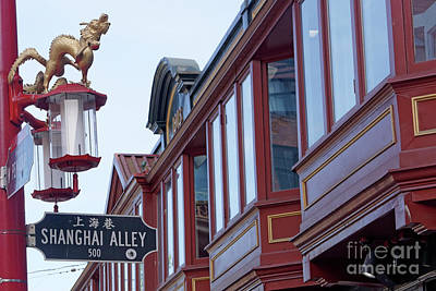 Photograph - Shanghai Alley 2 Vancouver by John  Mitchell