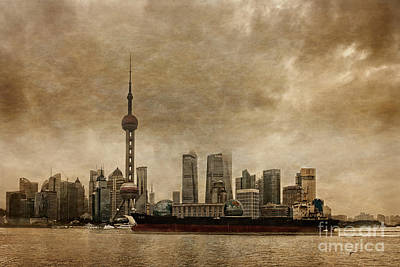 Shanghai Antiquities Original by Remi D Photography