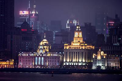 Photograph - Shanghai At Night by Judith Barath