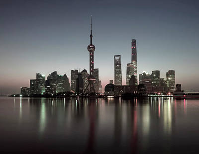 Photograph - Shanghai by Daniel Hagerman
