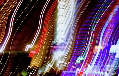 Photograph - Shanghai Lights by Glennis Siverson