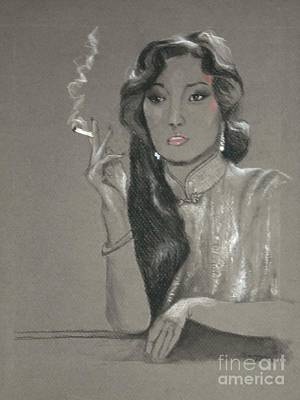 Shanghai Triad -- Portrait Of Chinese Film Star Art Print