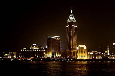 Steeple Photograph - Shanghai's Bund Is Back To Its Best by Christine Till