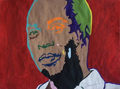 Painting - Shango Fela by Stormm Bradshaw