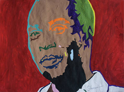 Chango Painting - Shango Fela by Stormm Bradshaw