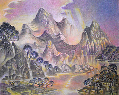 Pastel - Shangri La by Gary Renegar