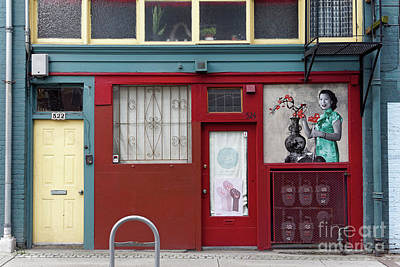 Photograph - Shanhai Alley Vancouver by John  Mitchell