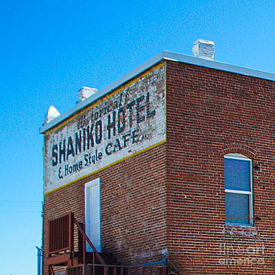 Photograph - Shanico Hotel 2 by Ansel Price