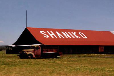 Shaniko Billboard Art Print