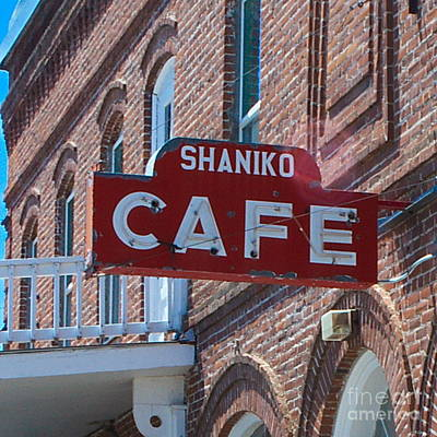 Photograph - Shaniko  Cafe by Ansel Price