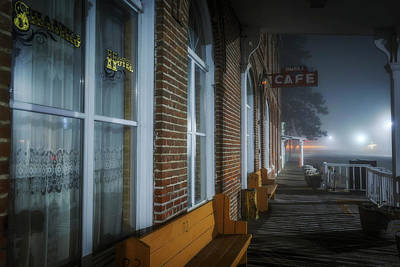 Photograph - Shaniko Hotel And Cafe by Cat Connor
