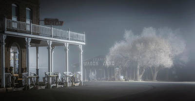Photograph - Shaniko Hotel And Wagon Yard by Cat Connor