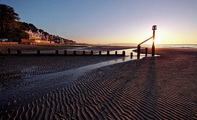 Photograph - Shanklin Beach by Ian Merton
