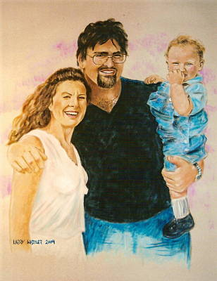 Shannon Carrie And Tommy Art Print