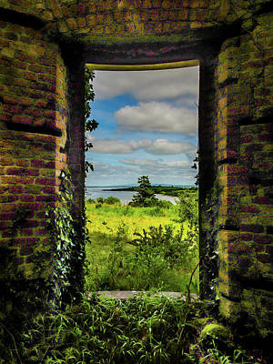 Photograph - Shannon Estuary From Abandoned Paradise House by James Truett