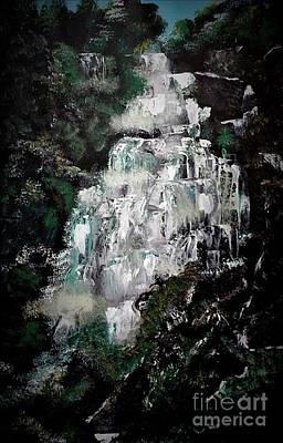 Painting - Shannon Falls by Crystal Schaan