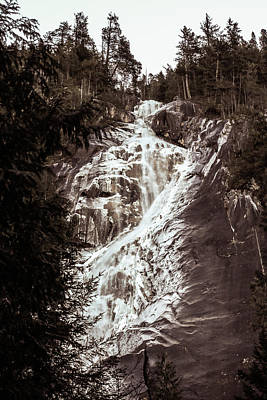 Photograph - Shannon Falls by Perggals - Stacey Turner