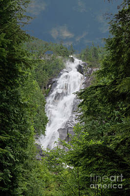 Art Print featuring the photograph Shannon Falls by Rod Wiens