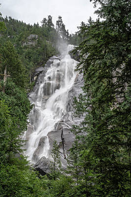 Photograph - Shannon Falls by Ross G Strachan