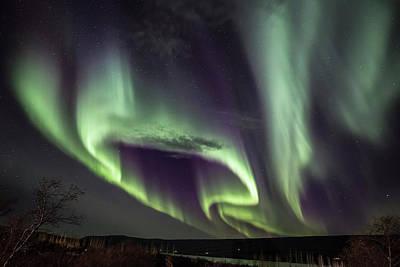 Photograph - Shape Of Aurora by Hitendra SINKAR