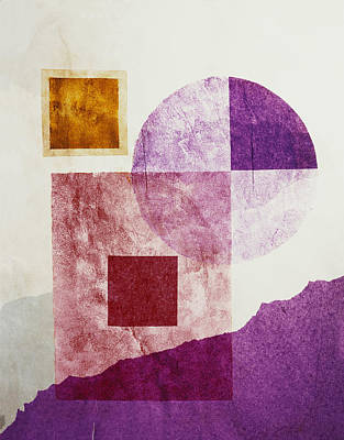 Shapes Art Print by BONB Creative