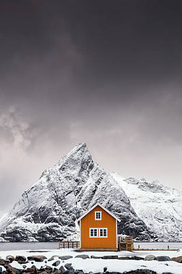 Home Photograph - Shapes Of Lofoten by Mikkel Beiter