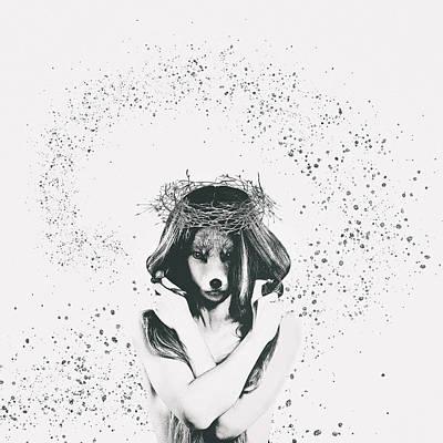 Surrealism Digital Art - ShapeShifter by Katherine Smit