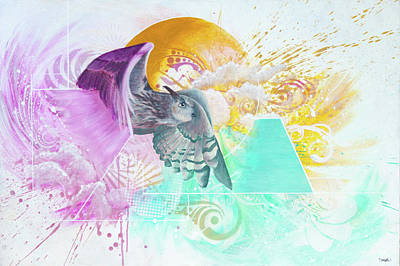 Shapeshifting Art Print by Douglas Kleinsmith