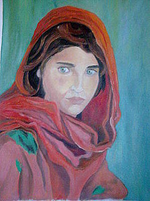 Painting - Sharbat  Gula by Asia Dzhibirova