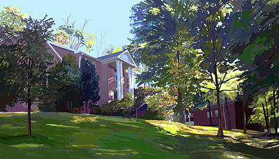 Wall Art - Painting - Sharbel House by Pam Little